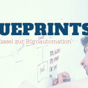 Blueprints Büroautomation