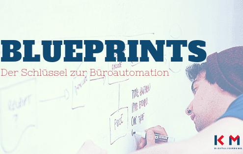 Blueprints Büroautomation