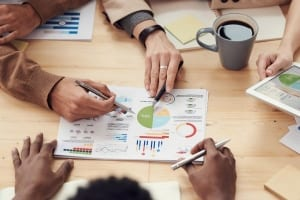 CRM Software für Kleinunternehmen Team Analytics