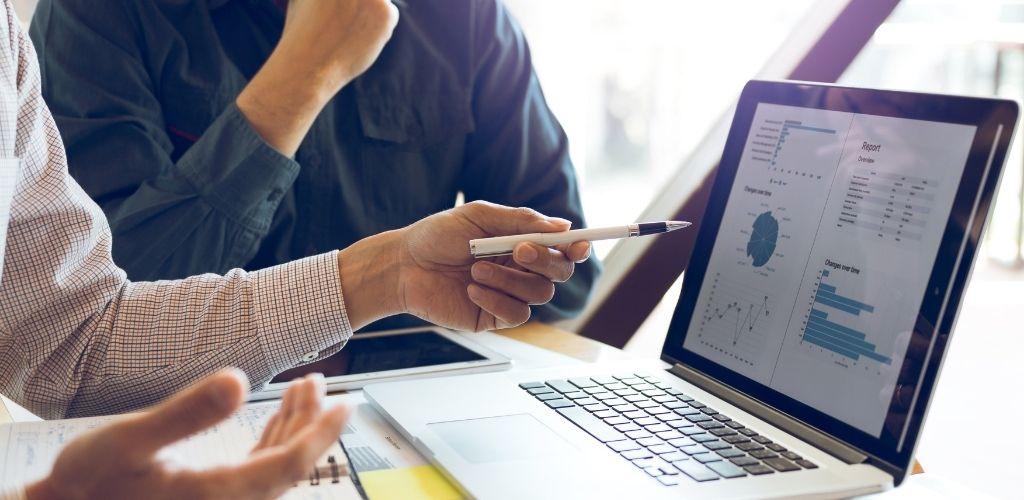 Digitale Strategie Besprechung