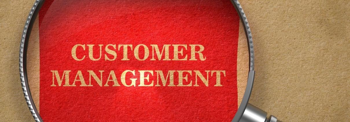 Kundenmanagement Header