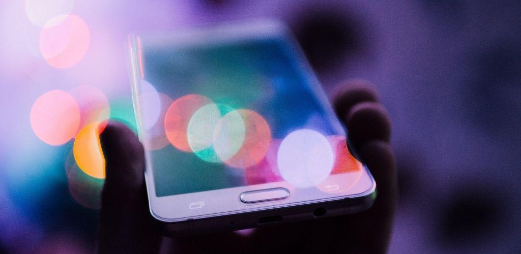 Digitale Transformation in Unternehmen Smartphone